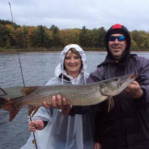 muskoka guided fishing