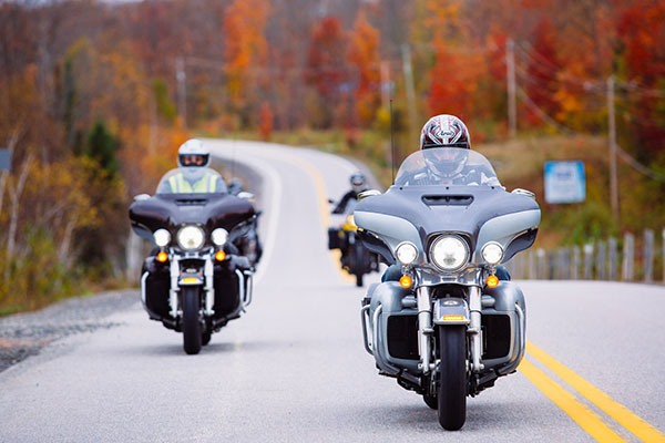 Ride the Edge Motorcycle Fall Colours