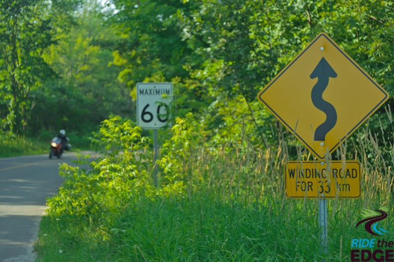 Winding Road in Explorers Edge