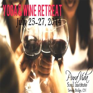 Yoga wine women 39 s retreat explorers 39 edge algonquin for Yoga and wine retreat