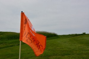 Foot Golf Flag