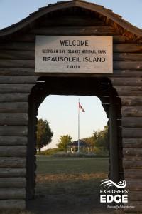 Beausoleil island
