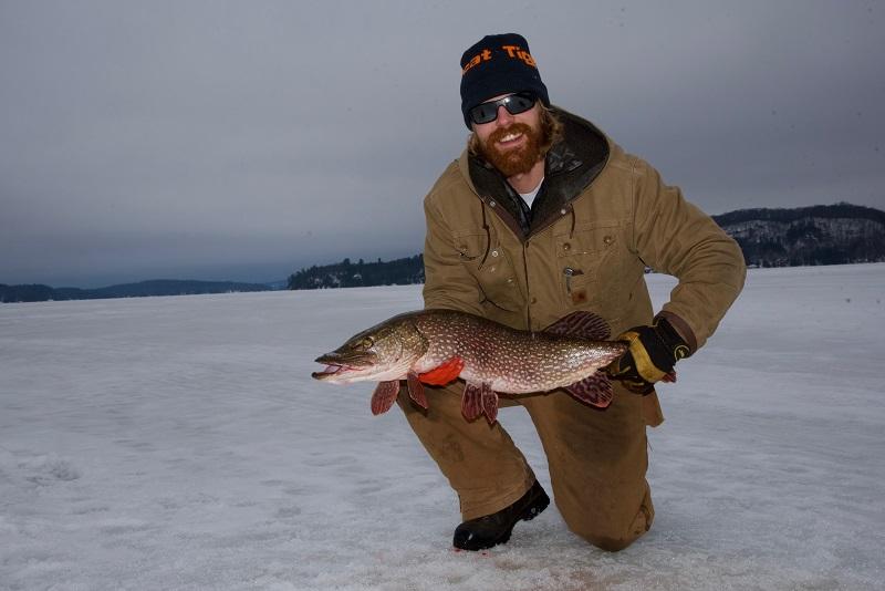 Tim W. Fish caught January Dwight Bay R. Tapley