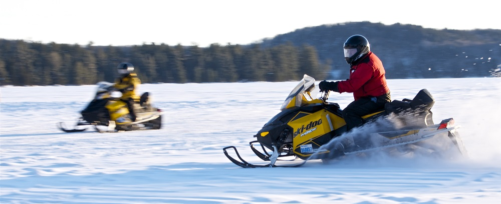 family snowmobile