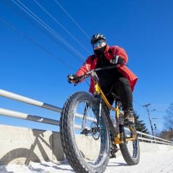 Fat Biking in Explorers' Edge