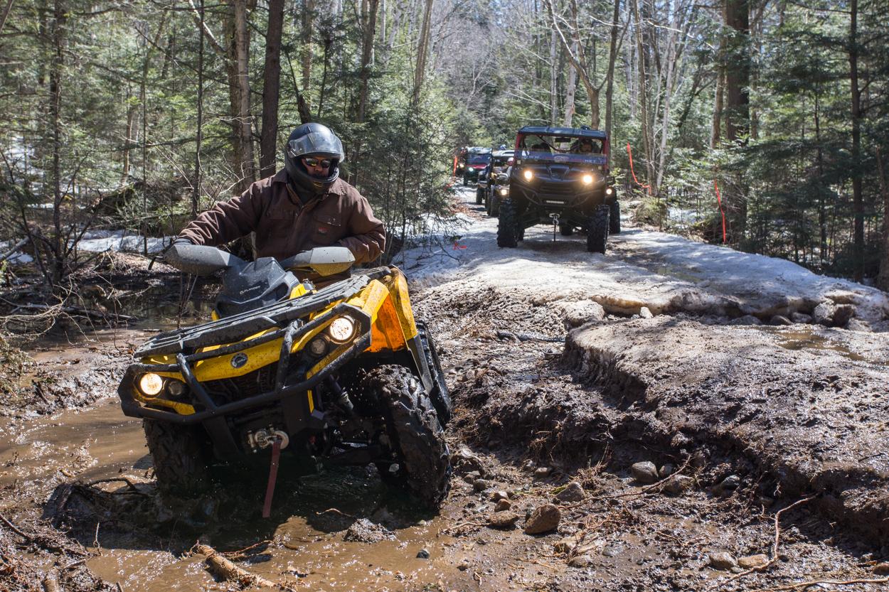 spring poker run in the mud