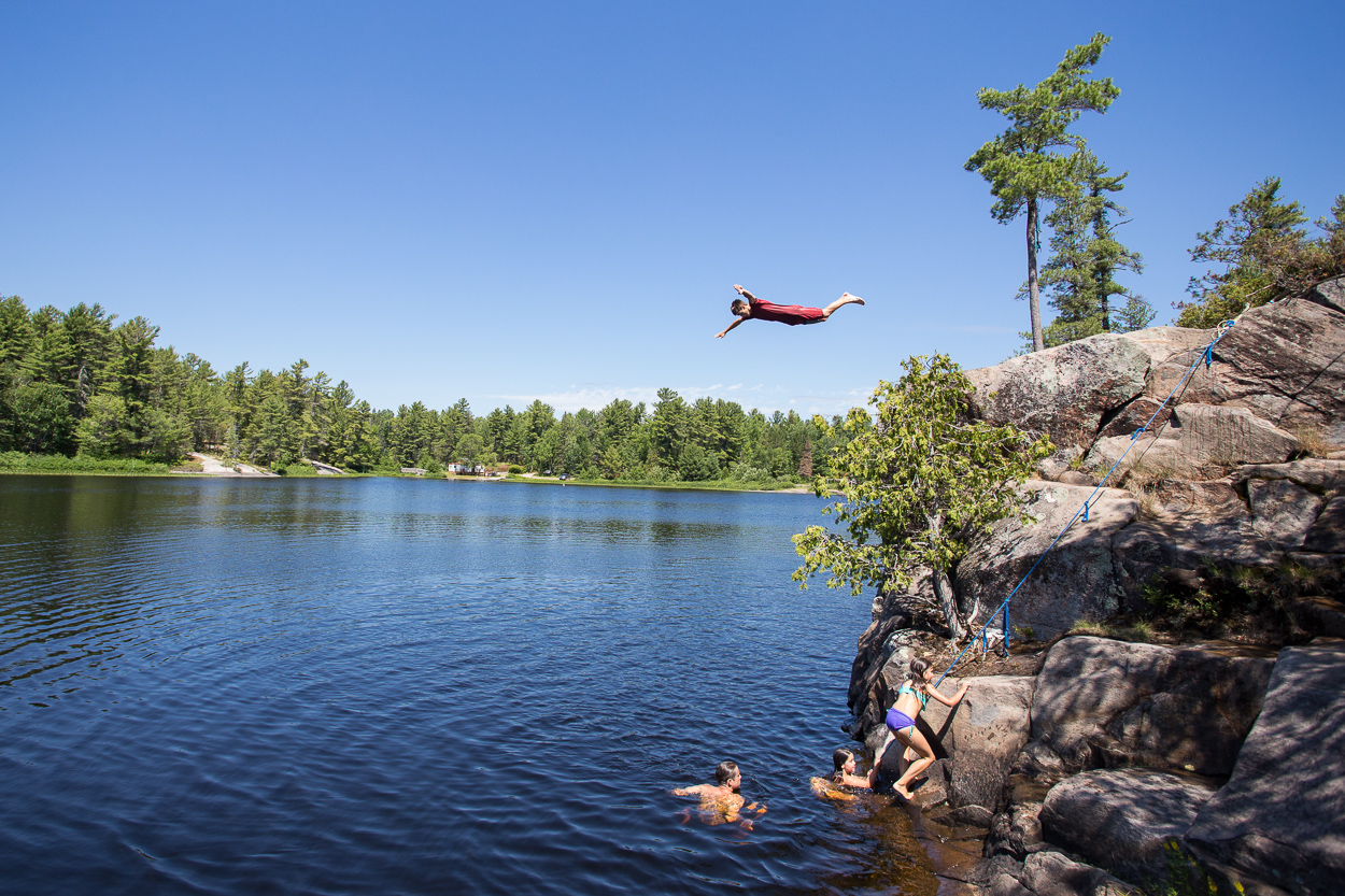 grundy cliff jumping