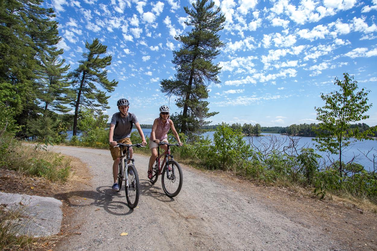 grundy provincial park biking