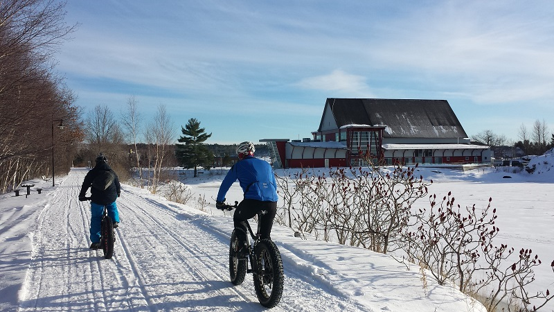 Fitness Trail Parry Sound Fat Bike Explorers' Edge