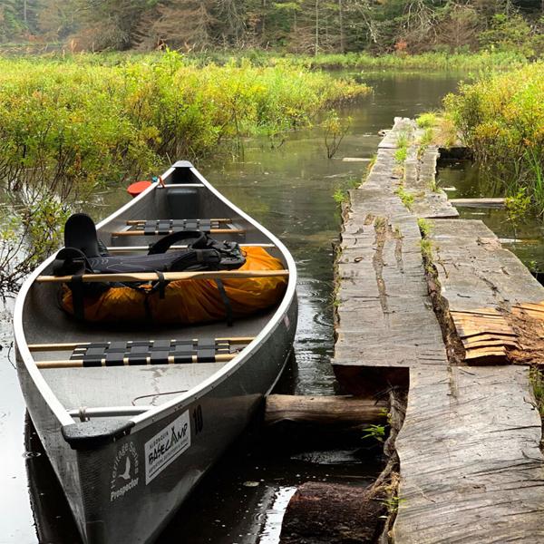 Algonquin Basecamp canoe