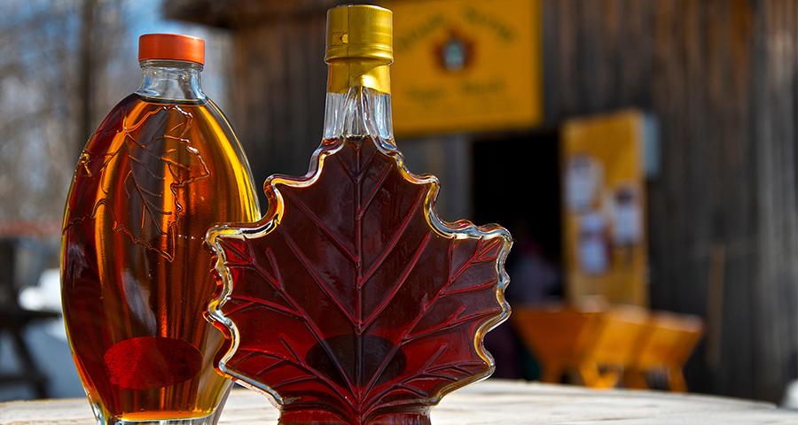 maple syrup bottle