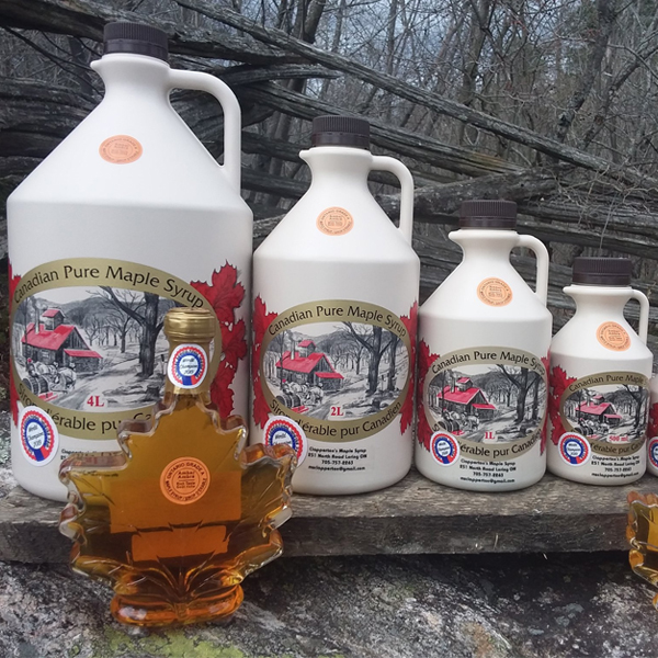 Clapperton's Maple Syrup business listing image