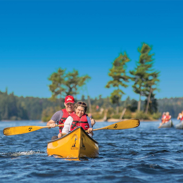 Paddling with Algonquin Outfitters