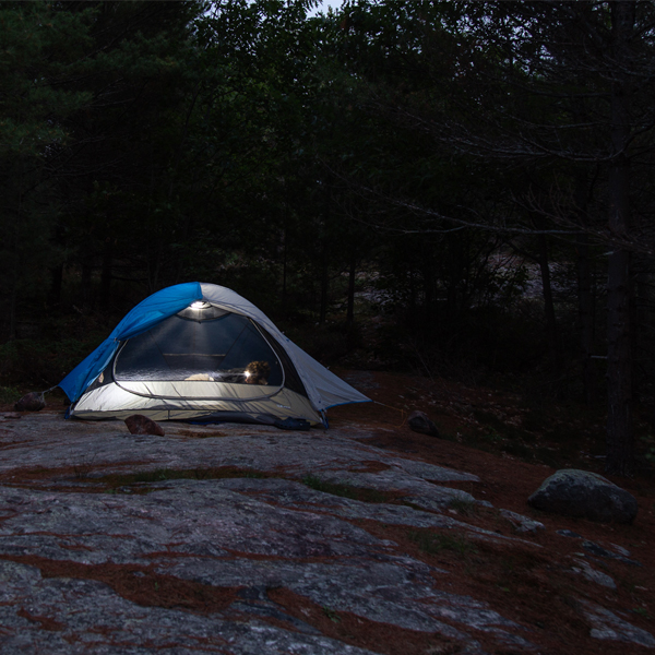 Backcountry camping tent
