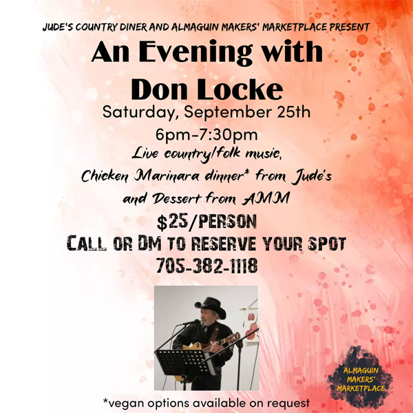 An Evening with Don Locke event listing image