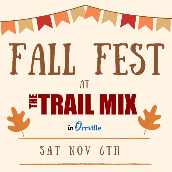 Fall Fest Trail Mix event listing image