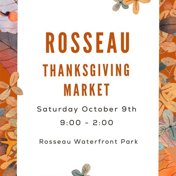Rosseau Thanksgiving Market event listing image