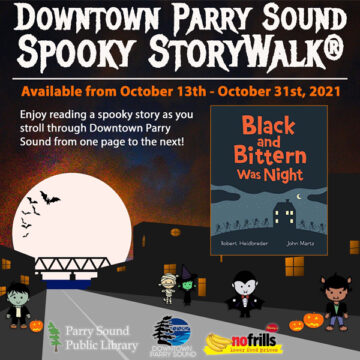 Spooky Story Walk event listing image